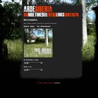 trabajos web: Arde Siberia