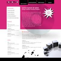 trabajos diseño web: plantilla web 1