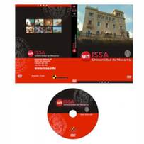 trabajos audiovisuales: carátula y galleta DVD promocional Universidad de Navarra